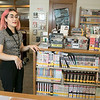 Leominster's new Teen Librarian Mary Boutet, 26, from Westford talks about her life and how she has come to have this job Tuesday, August 20, 2019 in the Teen Room at the Leominster Public Library. SENTINEL & ENTERPRISE/JOHN LOVE