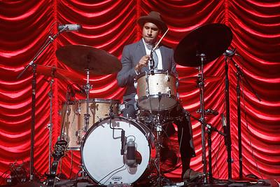 Leon Bridges live at Fillmore Detroit on 9-30-16.  Photo credit: Ken Settle