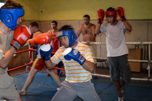 Boxing Club, Bishkek, Kyrgyzstan