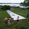 The best water slide ever!  Breton Bay, Leonardtown, MD, May 24, 2009.