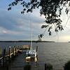 Quiet dock.