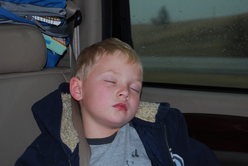 Kolton asleep