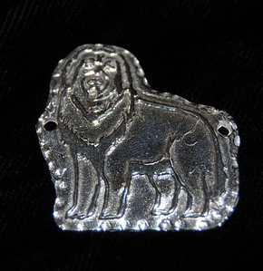 """Also available for a bead necklace is this large charm - """"The King 2"""" (a bit smaller - measuring almost 1 1/2"""" x almost 1 1/2"""")"""