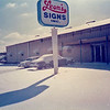 Leon's Signs, Inc. in the Snow