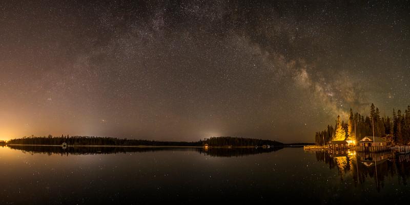 Milkyway over Islington Channel II