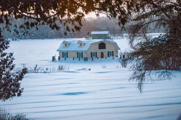 Winter Boathouses II