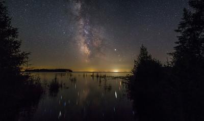 Milky Way over Albany Island