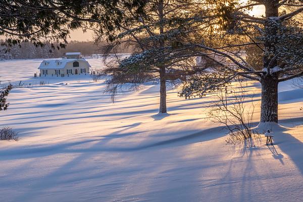 Winter Boathouses I