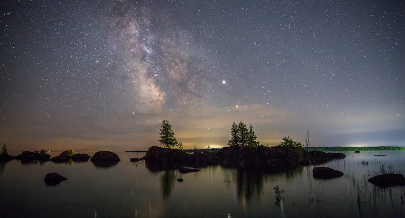 """Milky Way at Narnia"""