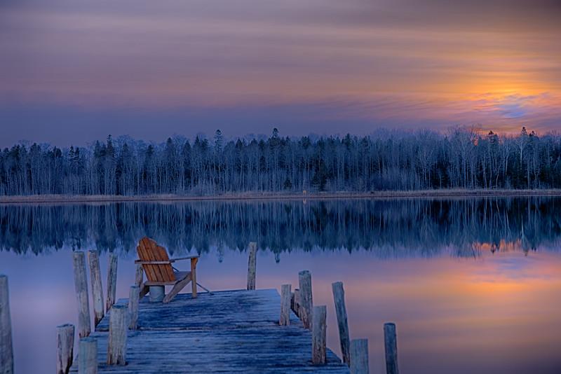 Chair at Moonrise