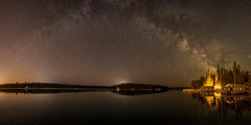 Milkyway over Islington Channel