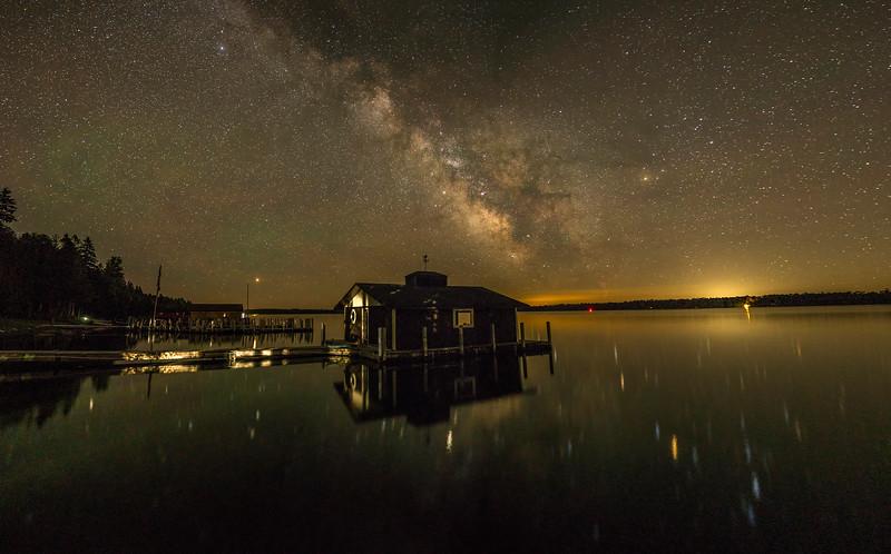 Muskie Bay Milky Way