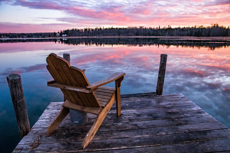 Chair at Sunrise
