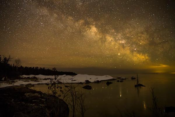 Milkyway Rising over Lake Huron