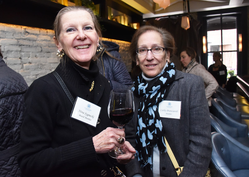Nina Sygnecki, Board Member and Cathy Branciaroli