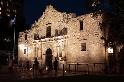 The Alamo. San Antonio, Texas.