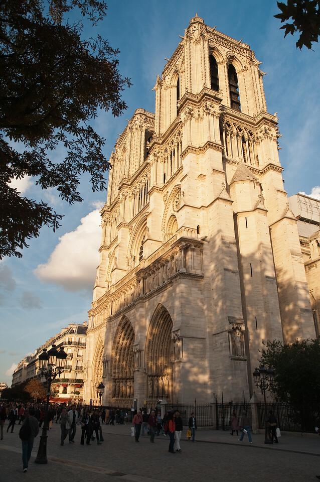Notre dame de Paris, Paris, France.