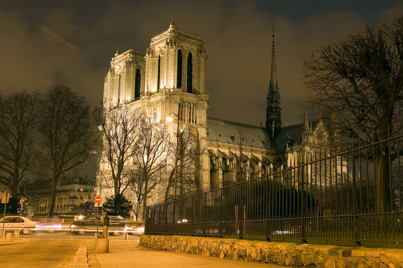 Notre Dame de Paris by Night