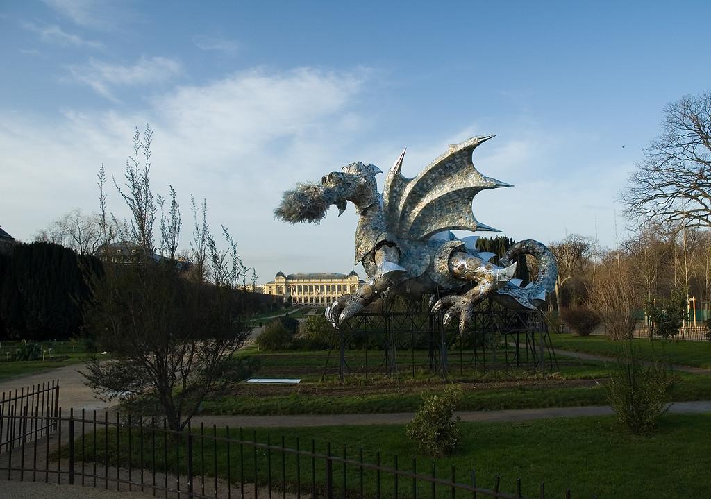 Le dragon du jardin des plantes