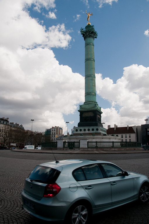 Place de la bastille, Paris, France