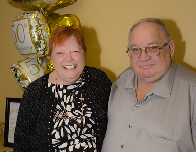 Les and Betty 50th