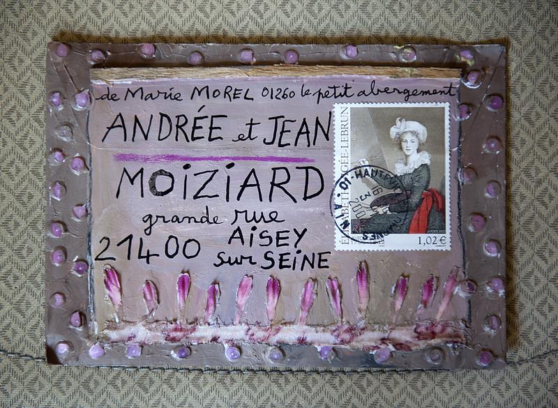 Art postal de Marie Morel