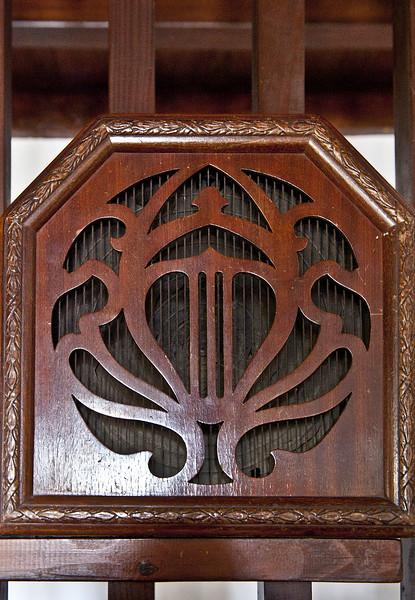 Haut-Parleur CELESTION  de 1927 en bois