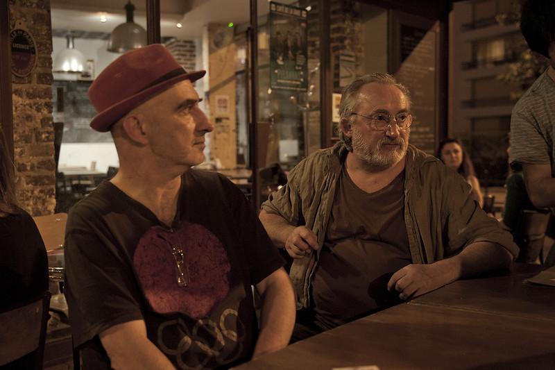 Philippe Saïd et Thierry Nenez (comédiens)