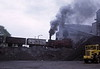 NCB S103, Newmarket Colliery, 9 May 1974 1.  The Hudswell Clarke 0-6-0T (1854 / 1952) shoves wagons up the headshunt.  It has since been scrapped.  Photo by Les Tindall.