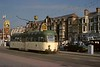 Brush railcoach 630 bound for Starr Gate on the promenade near the south shore, Blackpool, Sat 18 October 1975.  Photo by Les Tindall.