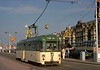 Twin-set 679 returning from Starr Gate on the promenade near the south shore, Blackpool, Sat 18 October 1975.  Photo by Les Tindall.