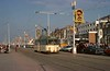 Brush railcoach 625 bound for Starr Gate on the promenade near the south shore, Blackpool, Sat 18 October 1975.  Photo by Les Tindall.
