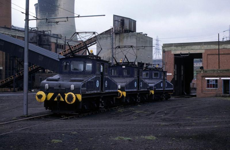 Nos 4, 3 & 1, Kearsley power station, Bolton, Sun 29 April 1979 2.  Photo by Les Tindall.