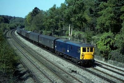Les Tindall's 1970s British trains