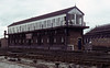 Chester No 4 signal box, Sat 28 July 1979.  Photo by Les Tindall.