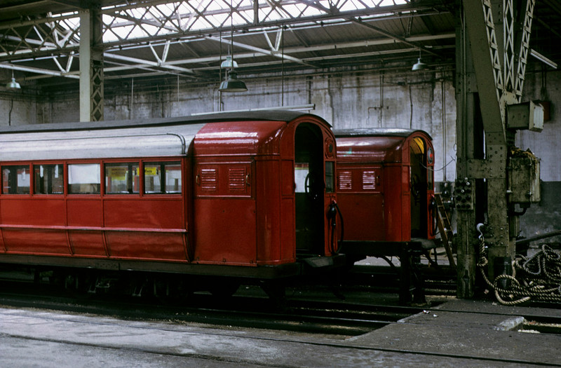 Broomloan Road workshops, Glasgow Underground, 11 May 1974 4.  Photo by Les Tindall.
