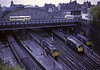 Glasgow Queen Street, 11 May 1974 1  Photo by Les Tindall.