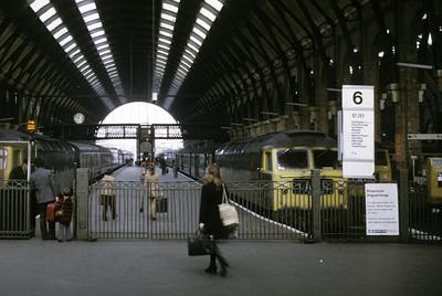 King's Cross station, 1974