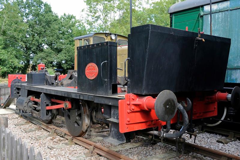 Barclay 0-4-0ST 945 / 1904, Whitwell & Reepham, Fri 20 August 2013.
