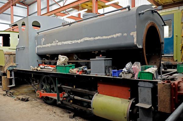 National Coal Board No 61, Preston Riversway, 18 February 2012.  Grant Ritchie 272 / 1894.