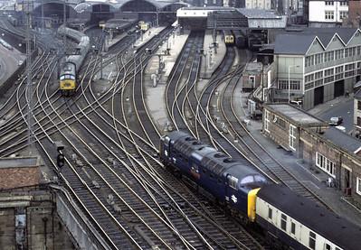 Newcastle trains, 1976