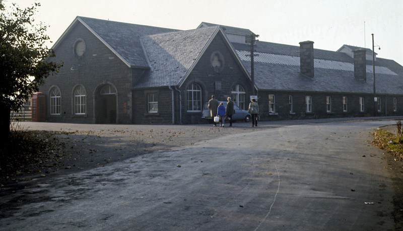 Wick station, 7 October 1972 1 Photo by Les Tindall.
