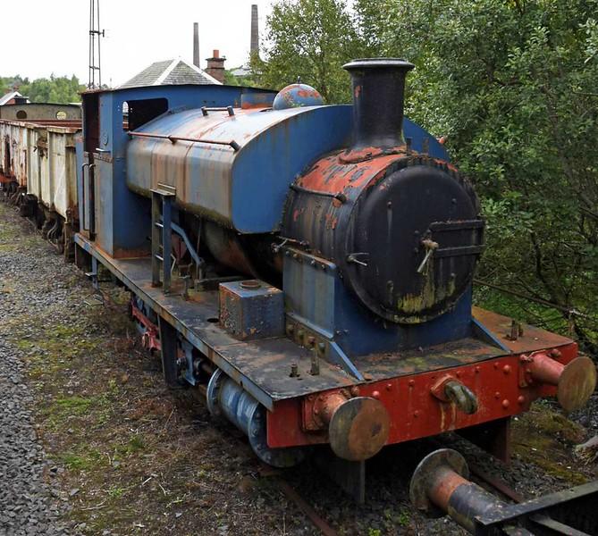 National Coal Board 0-4-0ST No 25, Scottish Industrial Railway Centre, Dalmellington, 20 August 2017.