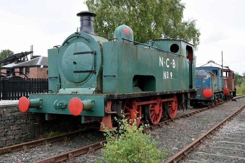 NCB No 9, Summerlee Industrial Museum, Coatbridge, 23 September 2016 1.  Hudswell Clarke 895 / 1909.