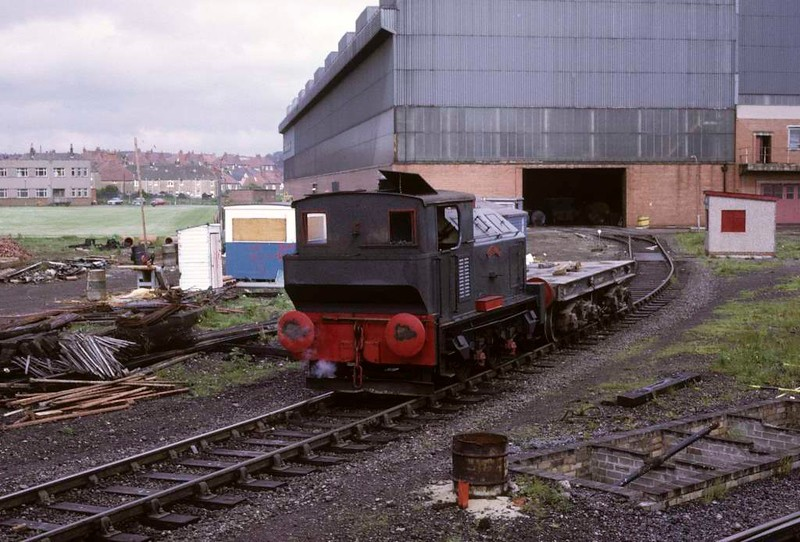 Ranald, Whifflet Foundry, Coatbridge, June 1973 2. Photo by Les Tindall.
