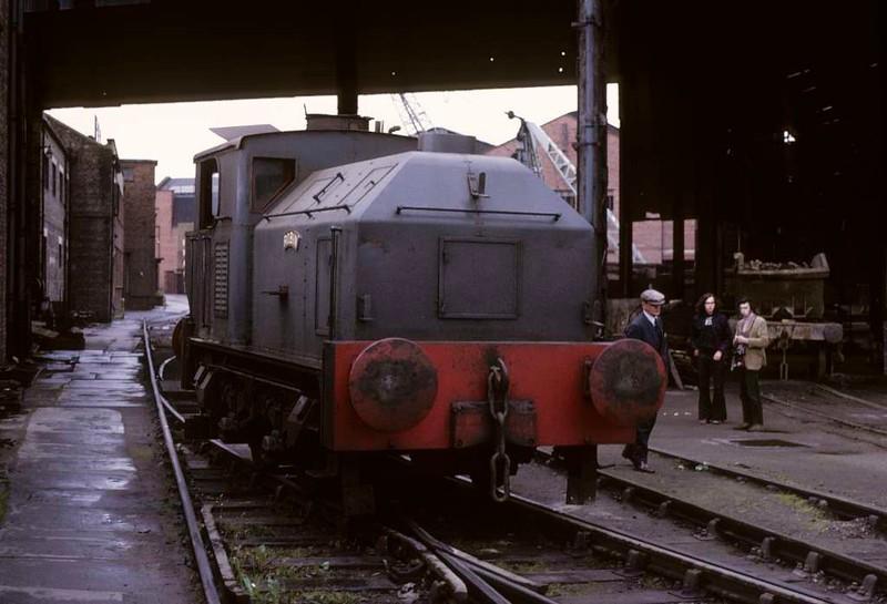 Robin, Whifflet Foundry, Coatbridge June 1973 2.    Photo by Les Tindall.