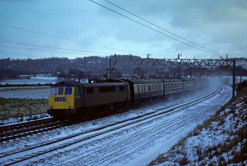 86260, Milford, 31 December 1978.  Became 86702 and exported in 2016 to Bulgaria. Photo by Les Tindall.