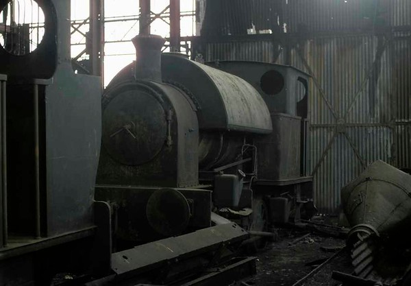 [Etruria gasworks loco], Brookfield Foundry, Stoke-on-Trent, September 1975 2.