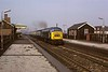 Selly Oak station, Sat 30 March 1974 2.  46044 heads 1V86 Leeds - Paignton Devonian.  Photo by Les Tindall.