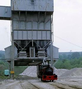 Wirksworth quarry, 1973